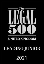 intellectual property barrister in UK. Legal 500 2021. pic 6.